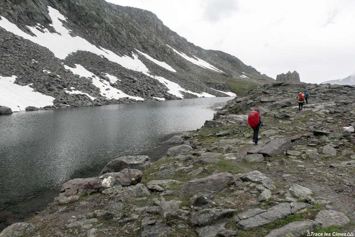 Lac Rnée no Col de la Valette, Maciço de la Vanoise