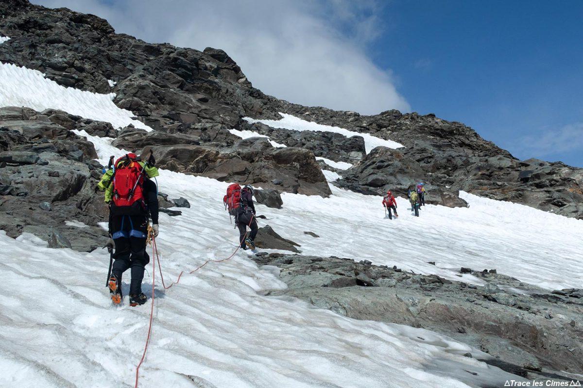 Montanhismo nas geleiras Vanoise: o Dôme des Sonnailles
