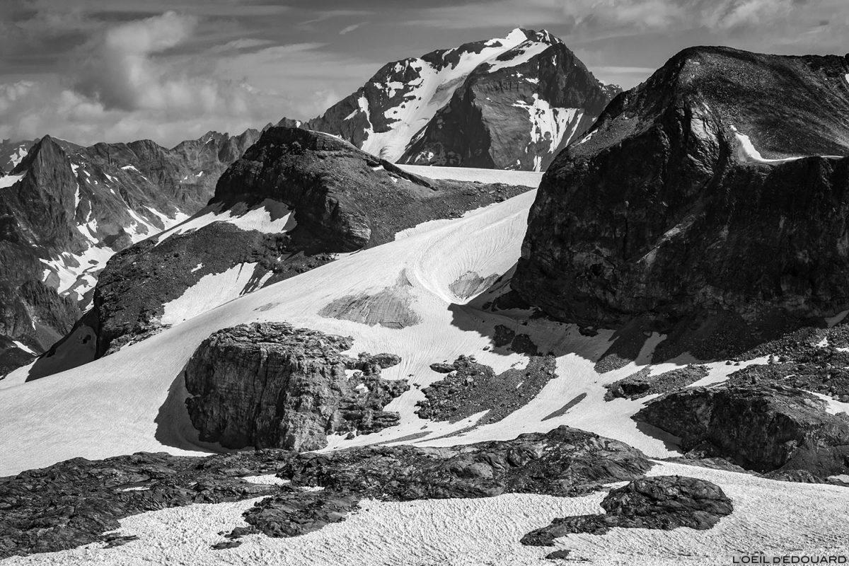 Montanhismo nas geleiras Vanoise: Mont Pelve, Pointe du Dard e Grande Casse