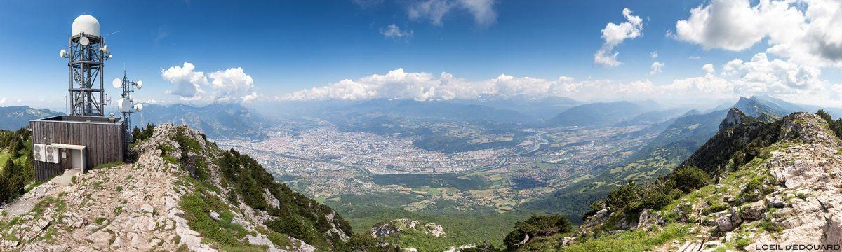 Grenoble do topo do Moucherotte - Excursões no Vercors