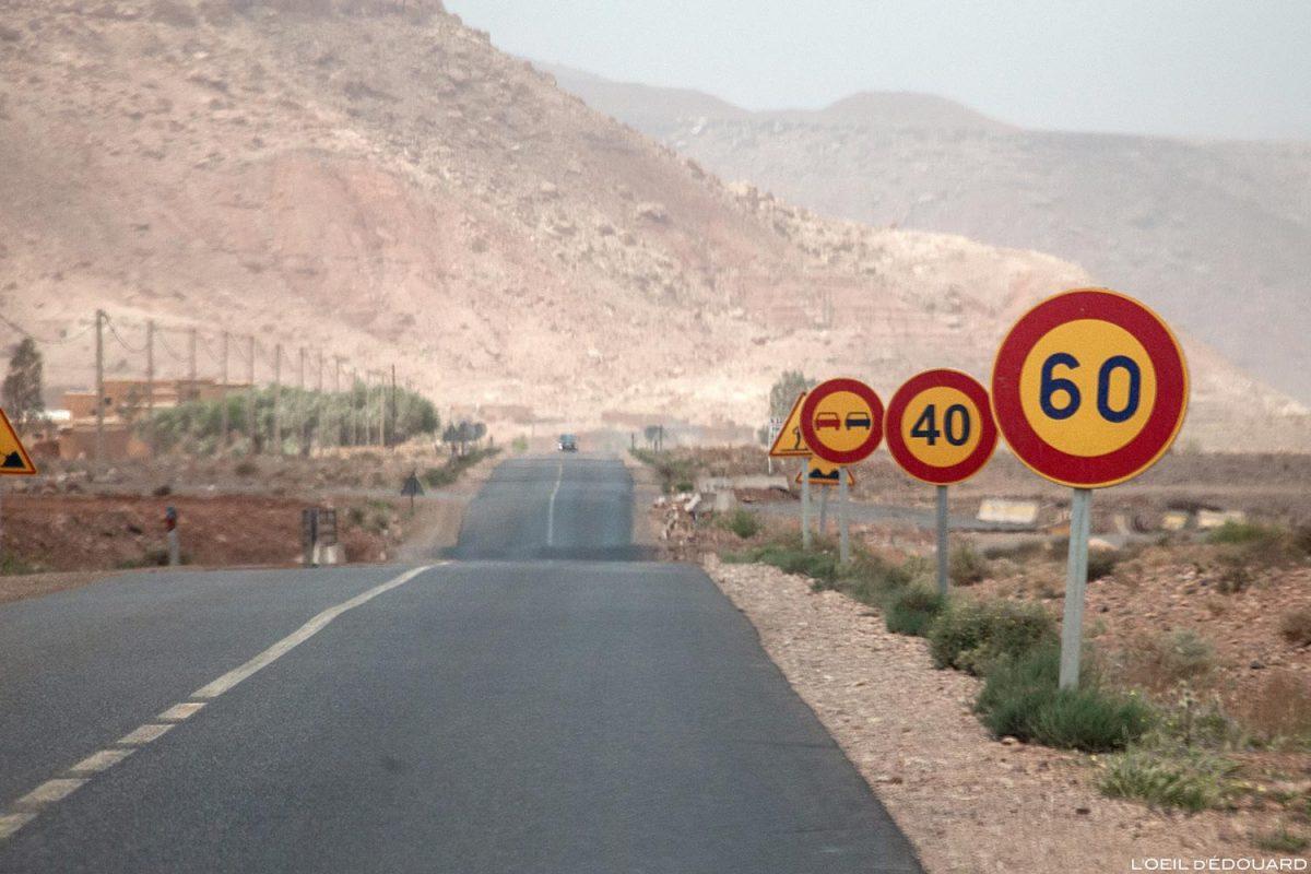 Viagem de carro para o Marrocos