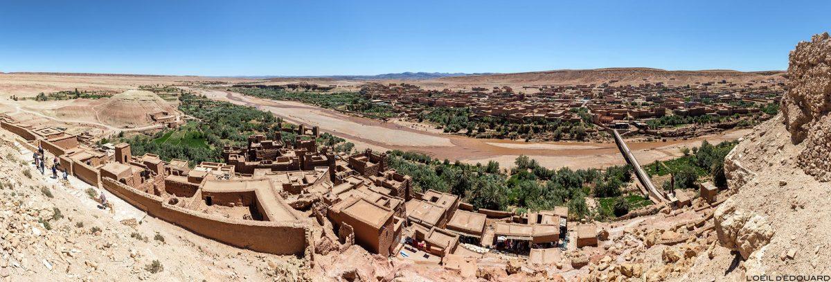 Ksar Ait Ben Haddou no deserto de Marrocos
