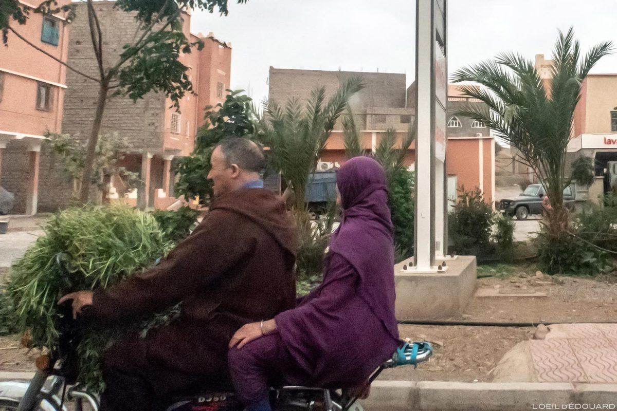 Rue de Agdz, Vale Draâ, Marrocos