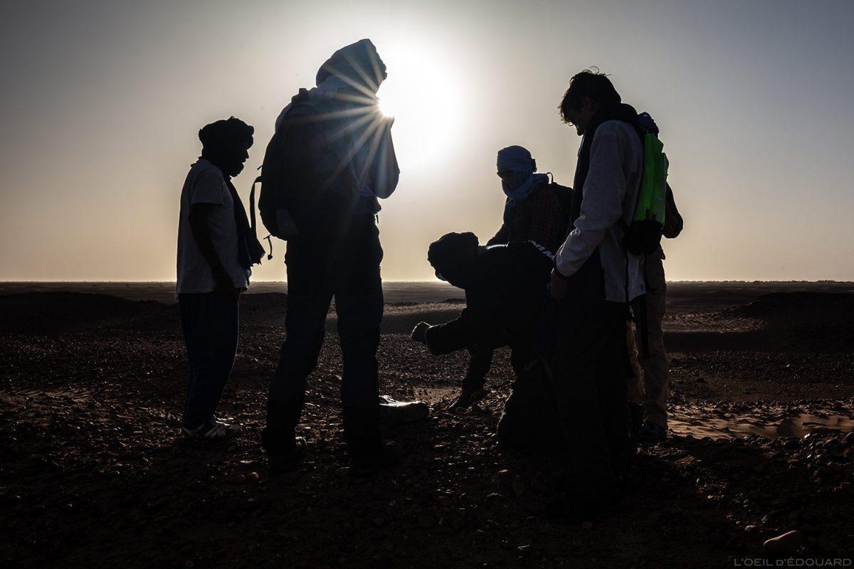 Descoberta de fósseis no deserto marroquino com Mélodie du Désert