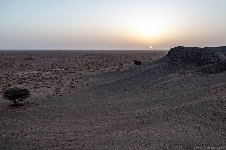Amanhecer no deserto marroquino