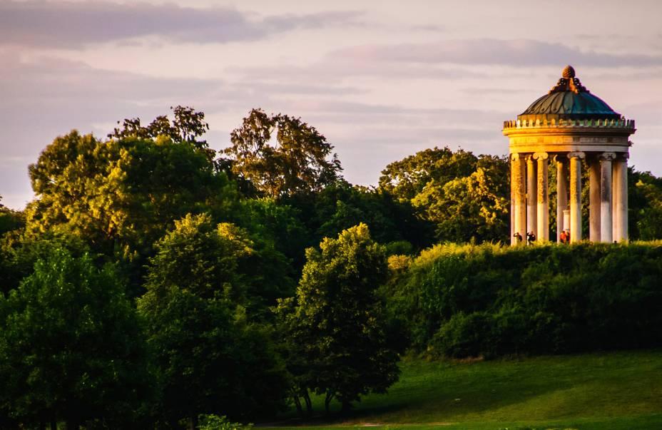 O Jardim Inglês é um dos parques da cidade