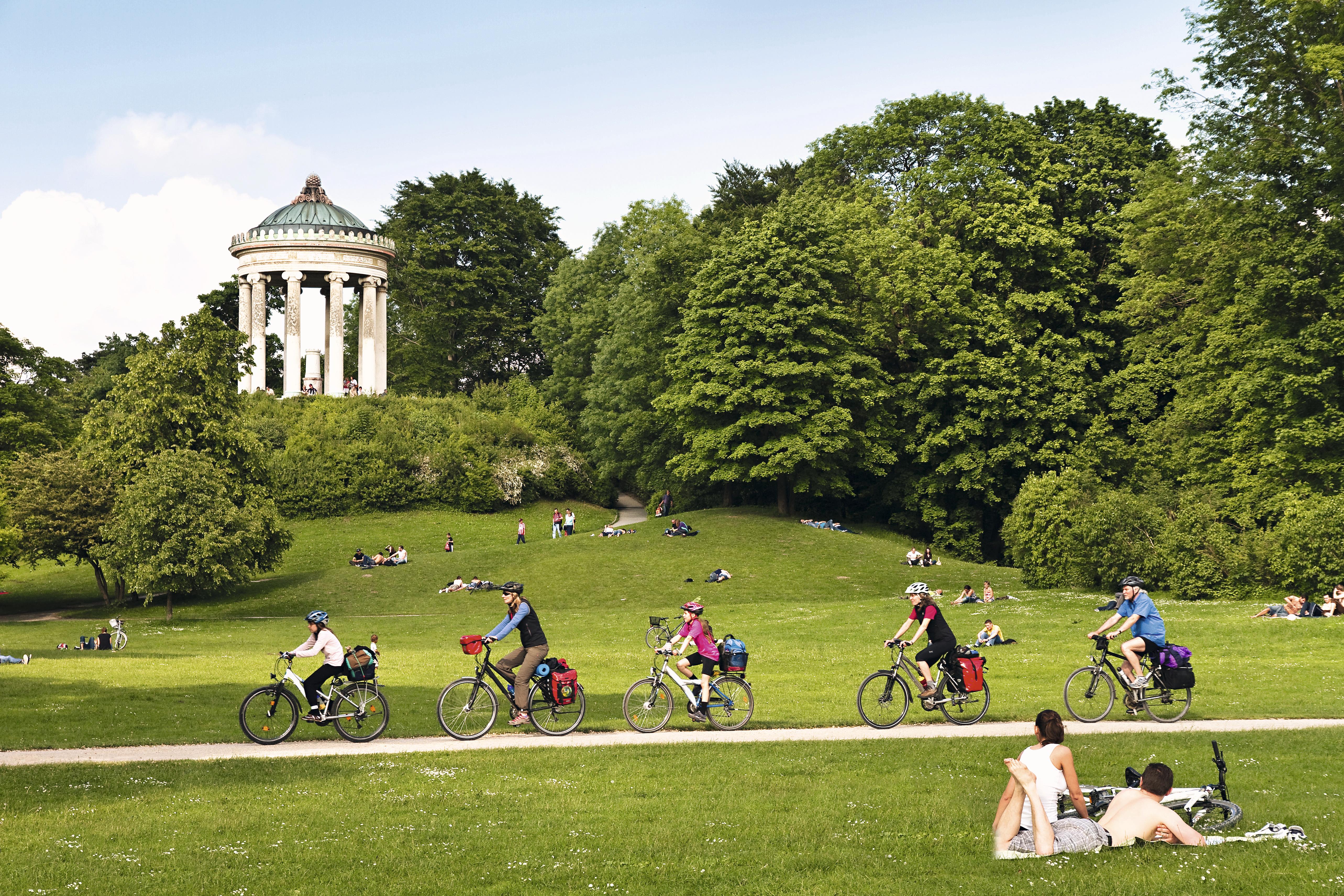 Englisher Garten, Munique, Alemanha