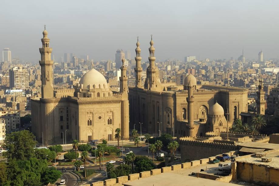 Mesquitas do Sultão Hassan e El-Refai no Cairo