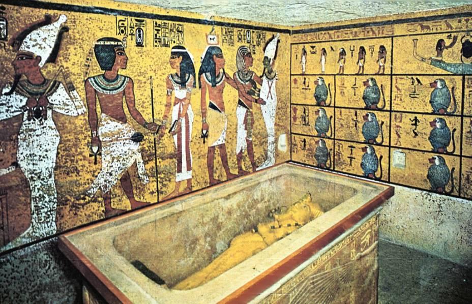 Tumba do Faraó Tutankhamon no Vale dos Reis em Luxor