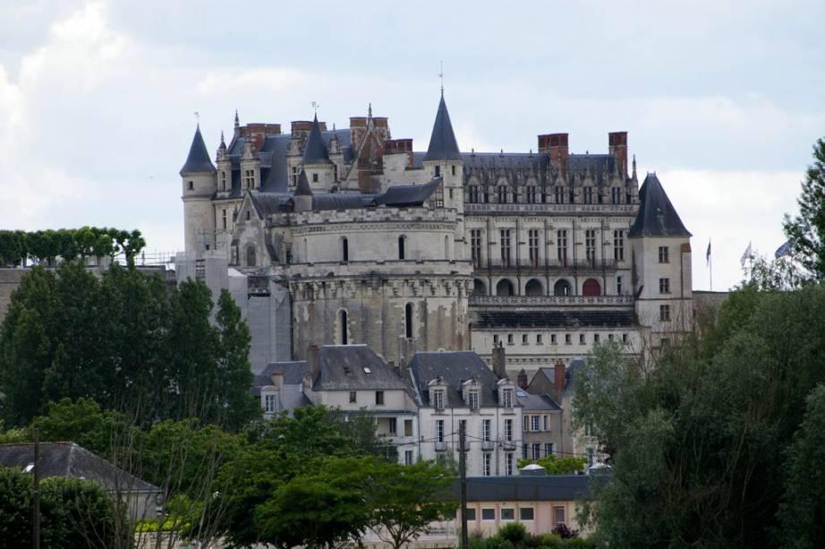 Château d'Amboise no Vale do Loire