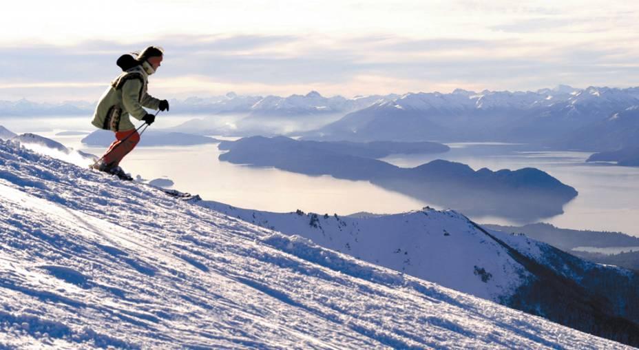 Com mais de 50 pistas, Cerro Catedral é o principal resort de esqui de Bariloche e um dos mais modernos da América do Sul.