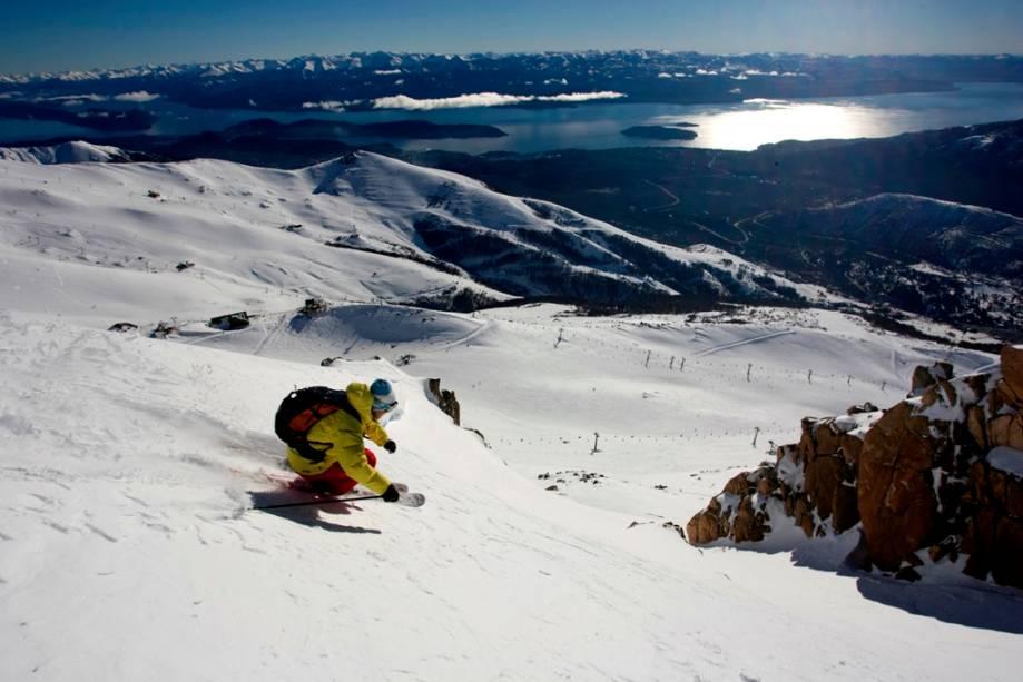 O Cerro Catedral de Bariloche é ideal para todos os espectadores, esquiadores e turistas que procuram outras atividades ao ar livre