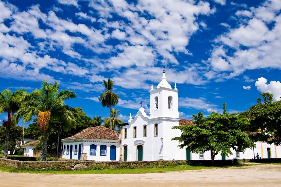 Igreja de Nossa Senhora das Dores no centro histórico da cidade