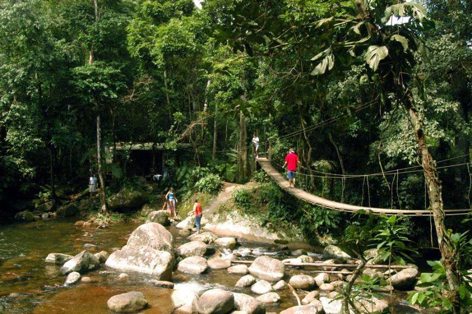 Cachoeira do Poço do Tarzan em Paraty