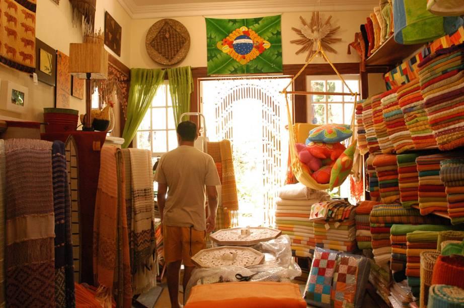 Loja de souvenirs na cidade velha