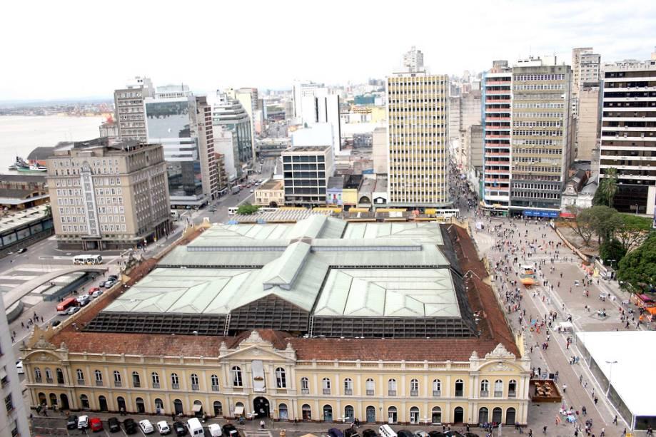 O edifício do mercado público foi construído em 1869