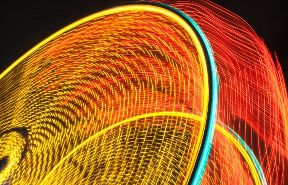 Roda-gigante no New Orleans City Park