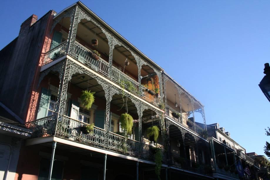 Arquitetura típica de Nova Orleans