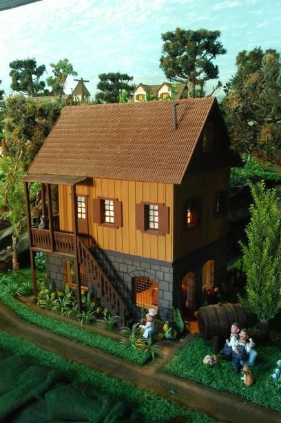 Miniatura do mundo encantado em Gramado, RS