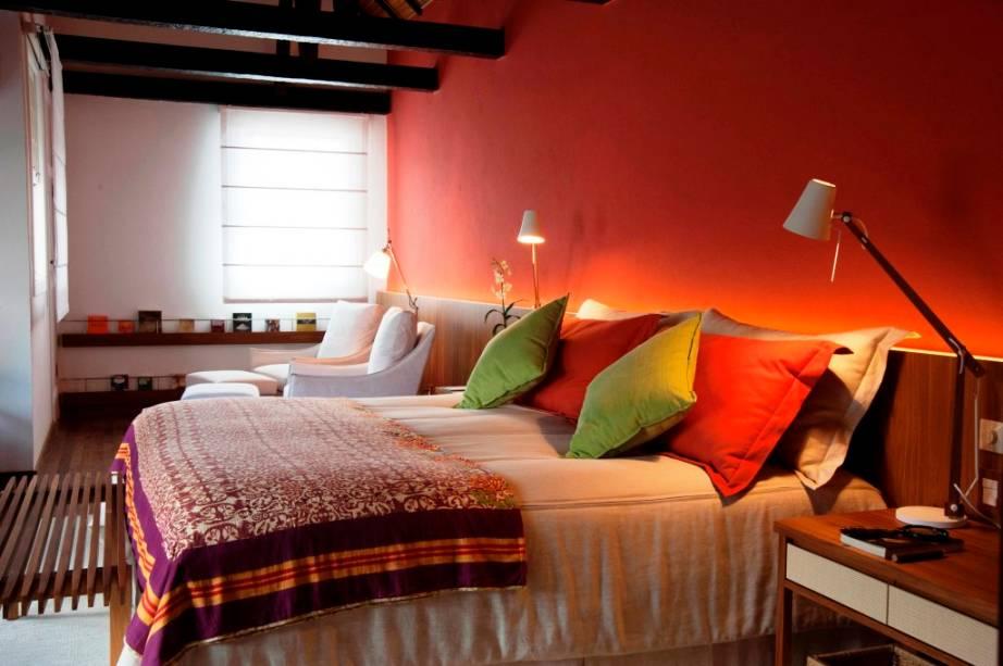Suíte do Saint Andrews Hotel em Gramado, Rio Grande do Sul