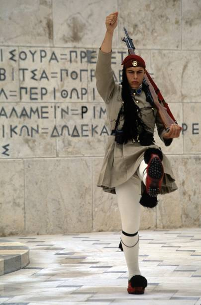 Soldado em Atenas