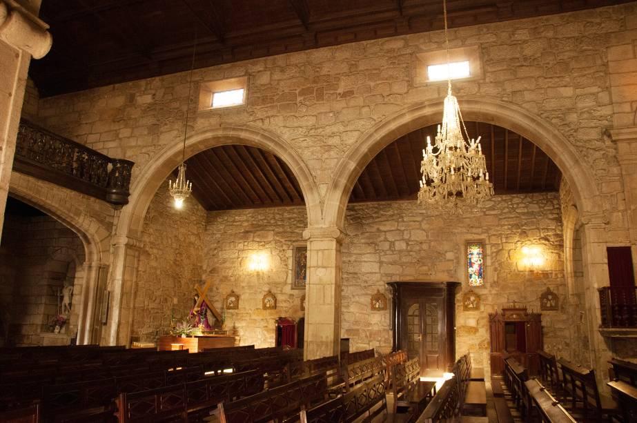 Interior da Igreja Matriz de Ponte de Lima