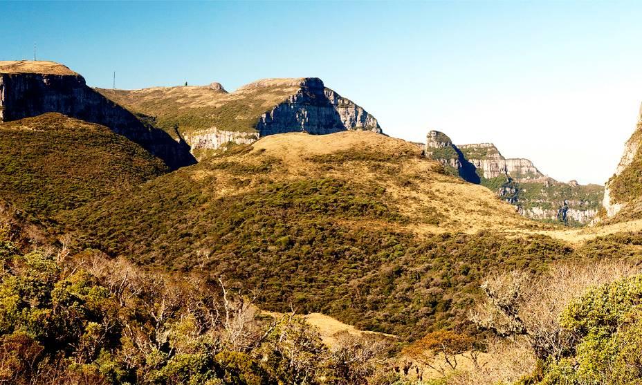 Nos arredores de São Joaquim, o complexo do Morro da Igreja possui um dos picos mais altos de Santa Catarina