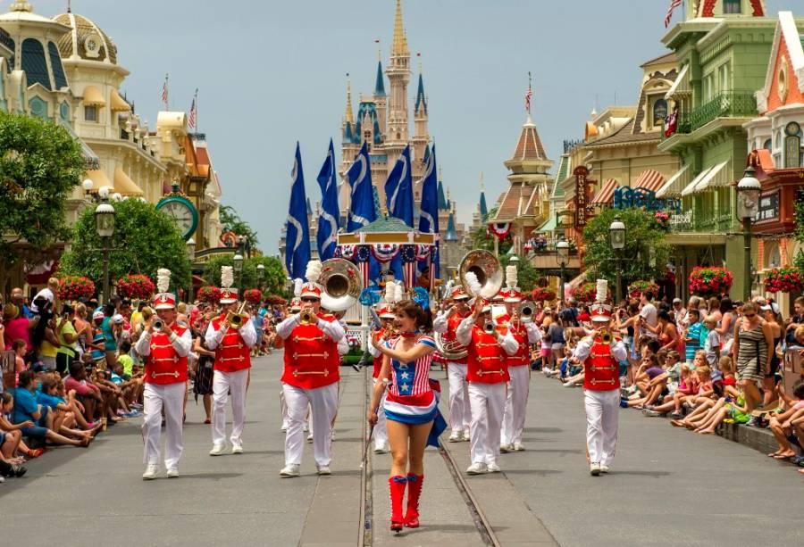Parada do Dia da Independência não é um reino mágico