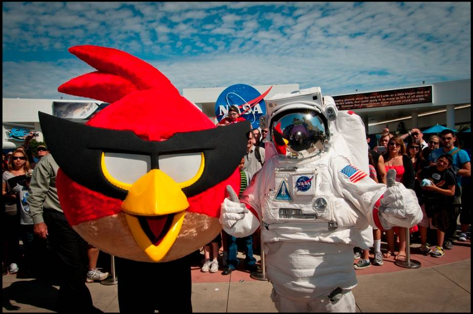Angry Birds no Kennedy Space Center
