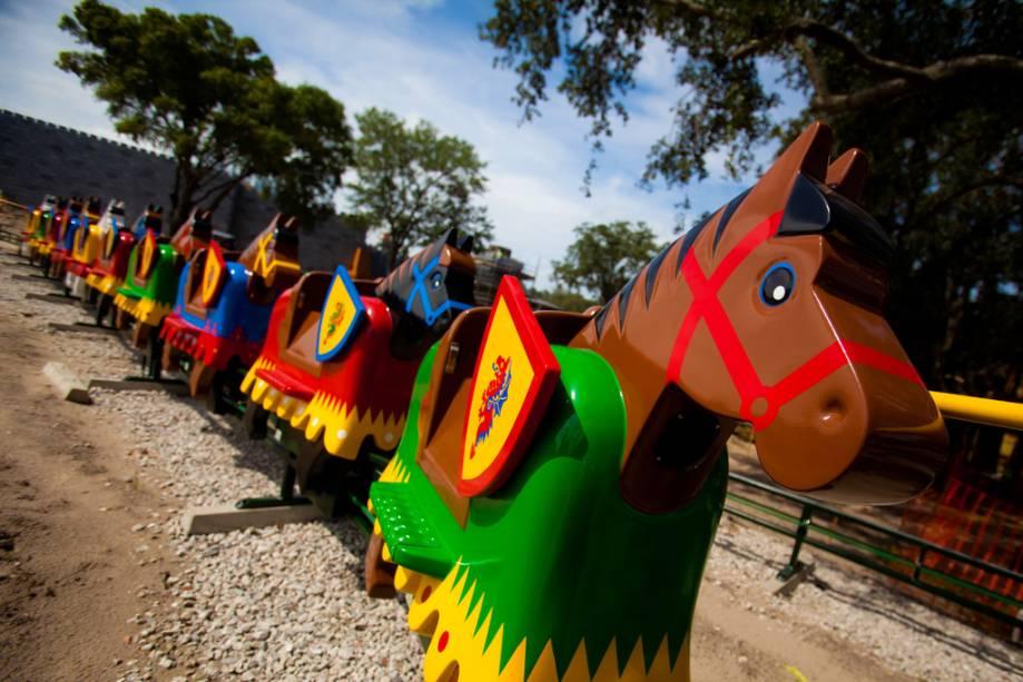 Cavalos da Legoland, parque temático Lego