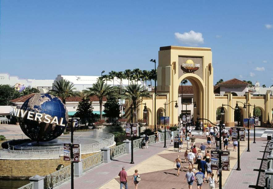Entrada para o Universal Studios, um dos espectadores mais disputados do mundo