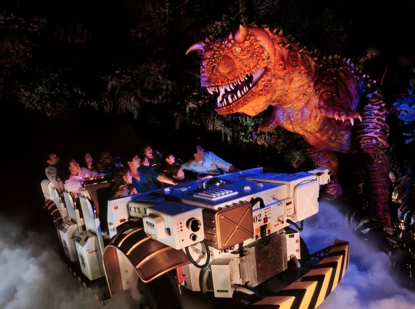 Dinoland USA, sem reino animal