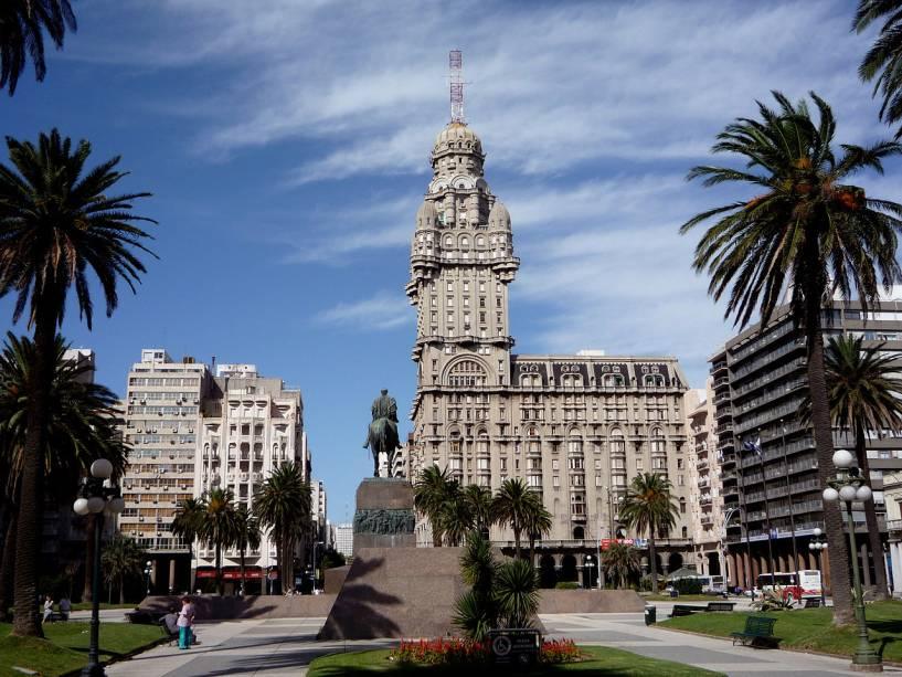Plaza Independencia, Montevidéu, Uruguai