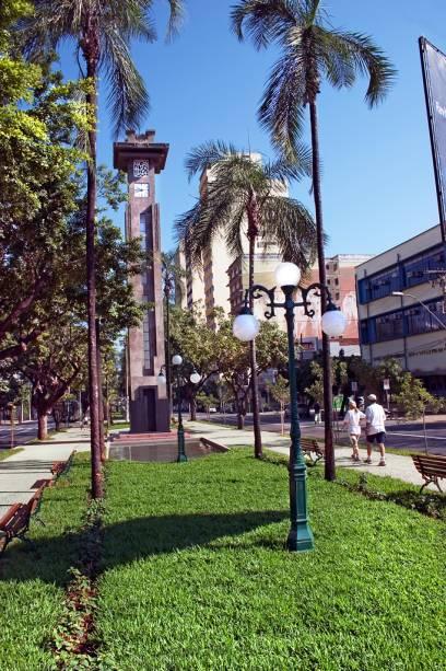 Agradável cidade planejada com largas avenidas arborizadas.  Goiânia é voltada para o turismo de negócios
