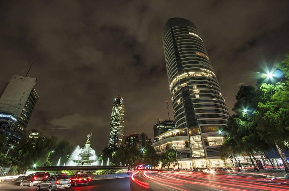 O centro histórico da Cidade do México está repleto de monumentos