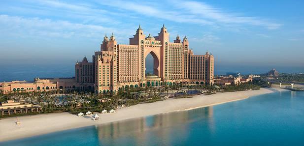Atlantis Hotel, não um Palm Jumeirah