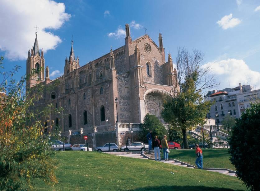 Igreja de San Jerónimo el Real, construída no século XVI