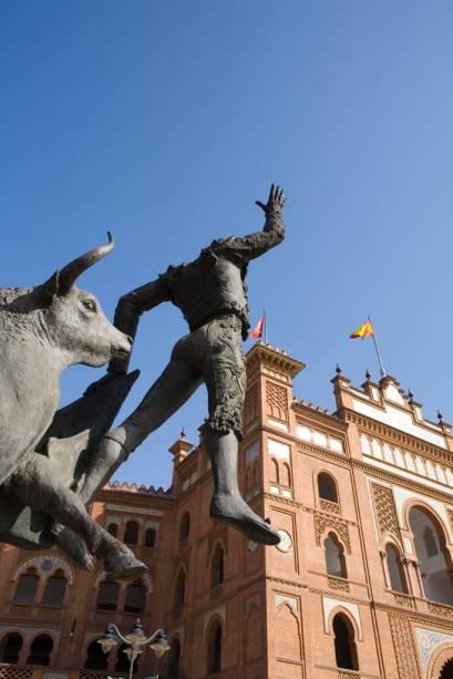 A Plaza de Toros de Las Ventas é a maior praça de touros da Espanha e a mais importante do país