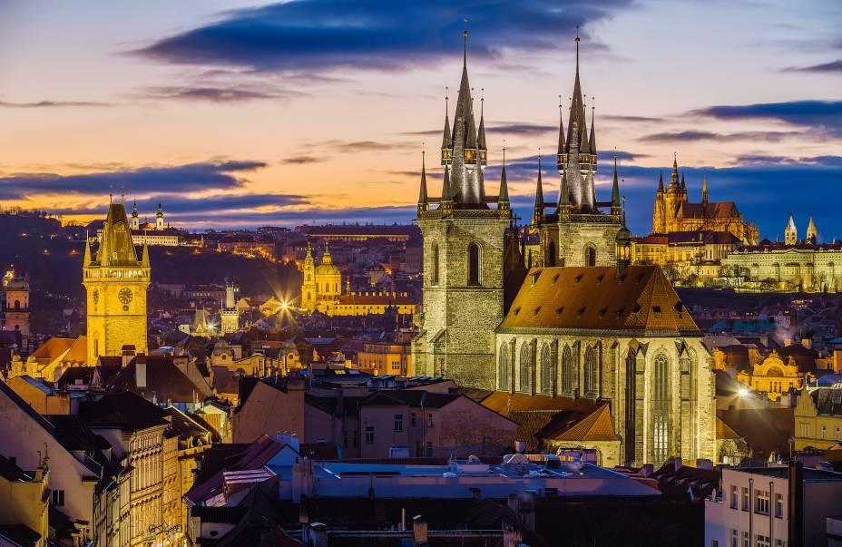 Vista da cidade a partir da Torre da Pólvora