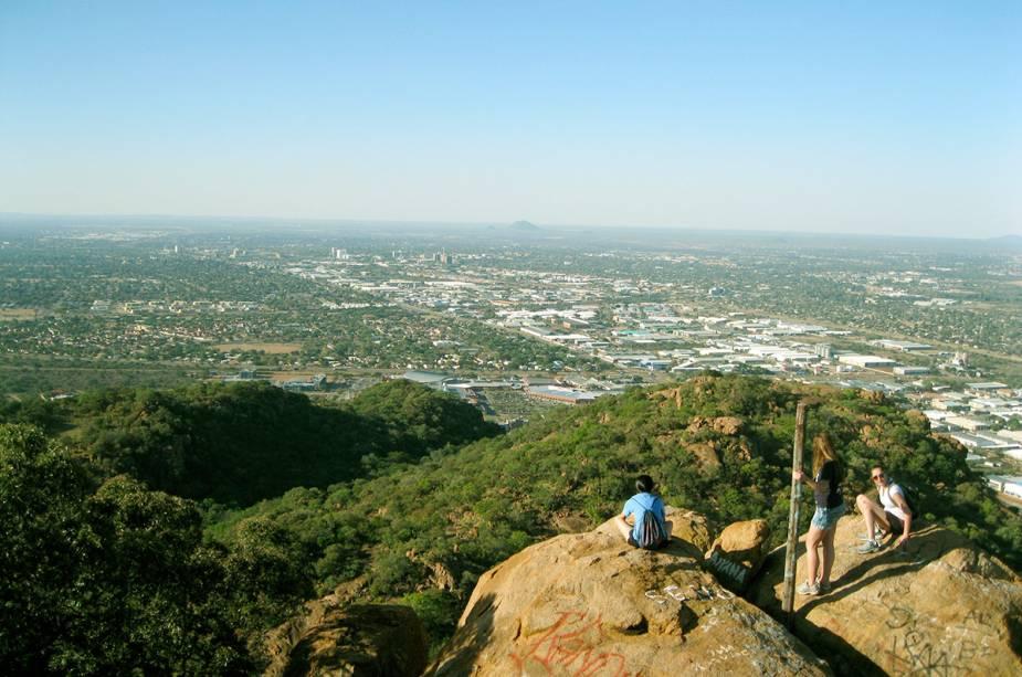 Vista do topo do Monte Kgale