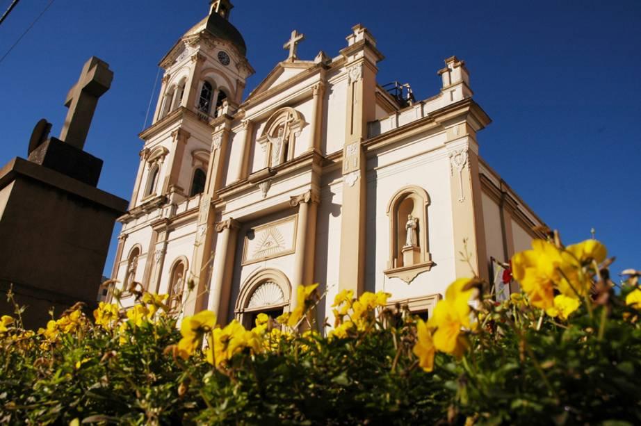 Igreja de Santo Antônio em Bento Gonçalves no Rio Grande do Sul