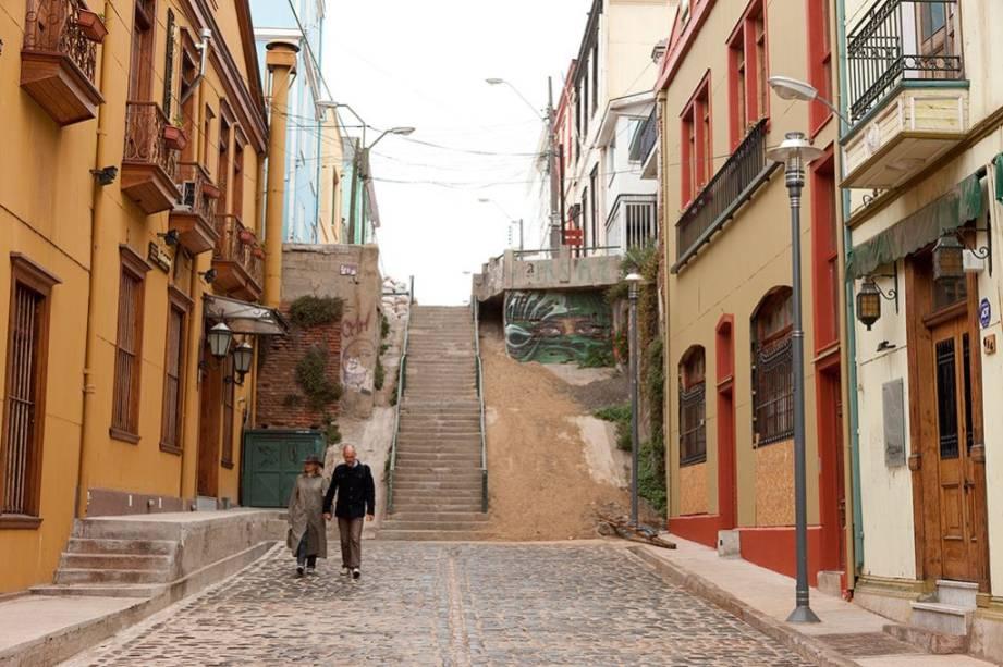 Valparaíso possui uma casa de trabalhadores amigável que lhe valeu o título de Patrimônio Mundial da UNESCO