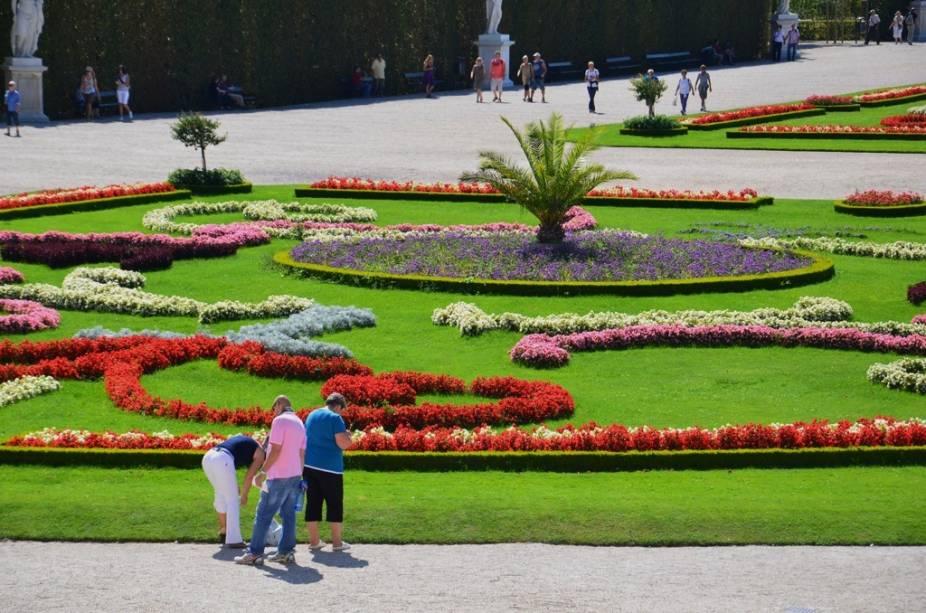 Jardim do Grande Parterre do Palácio de Schönbrunn