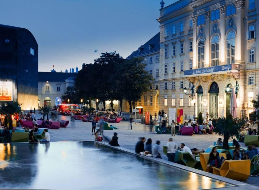 Bairro dos museus de Viena