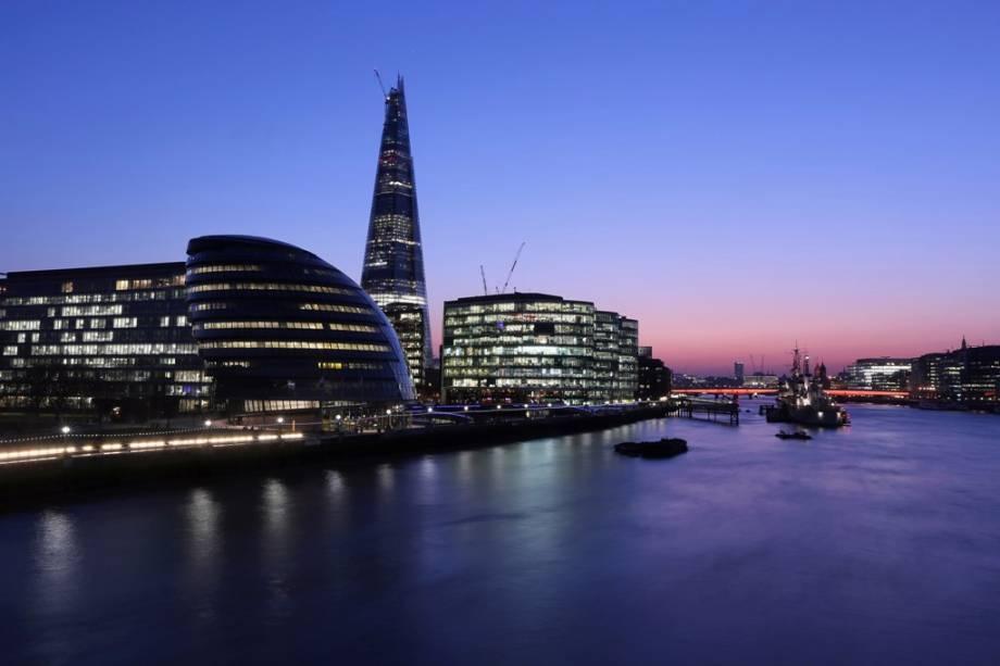 Com uma altura de 310 metros, The Shard não é apenas o edifício mais alto de Londres, mas de toda a Europa
