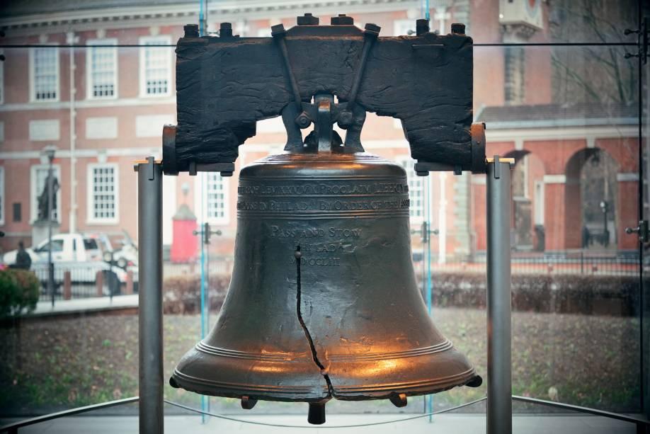 O Liberty Bell está localizado no centro histórico e é considerado por muitos um dos principais símbolos da cidade e do movimento abolicionista.