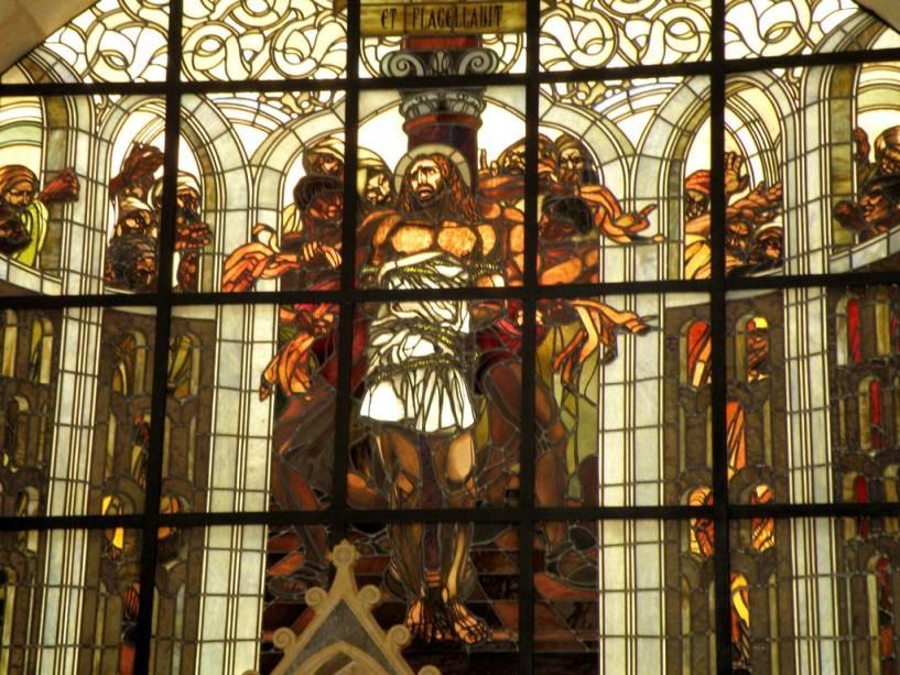 Igreja Franciscana da Flagelação em Jerusalém, considerada por muitos como o primeiro passo da cruz