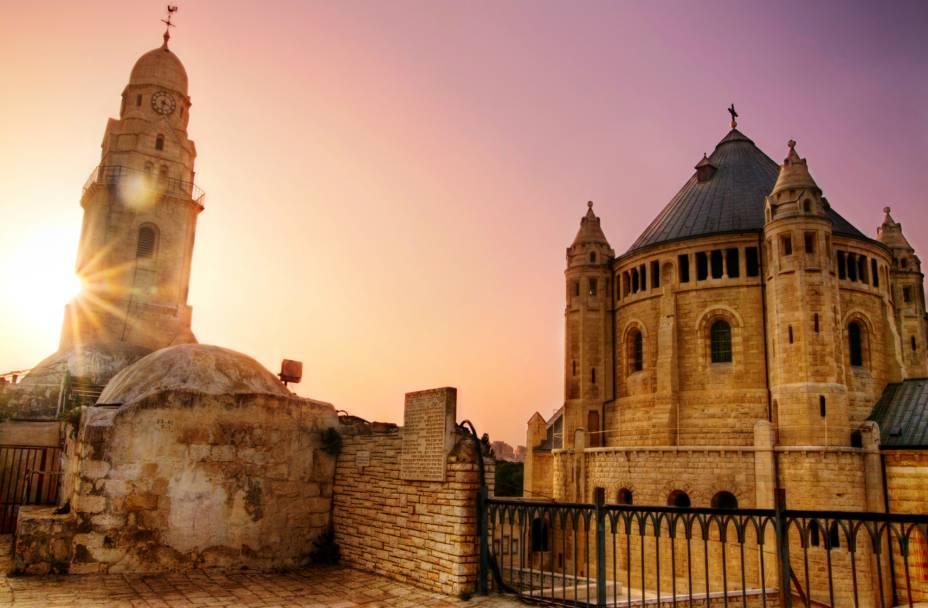 Monte Sião em Jerusalém