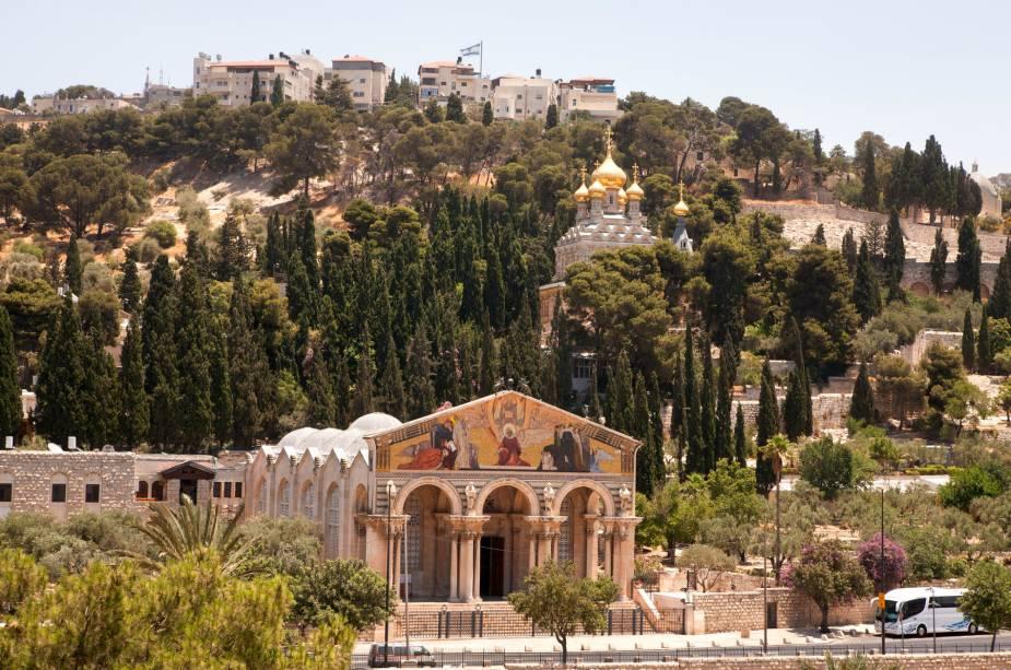 Monte das Oliveiras em Jerusalém