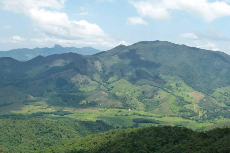 Vista de Mauá do Mirante Zé Manuela, 1.800 metros de altura